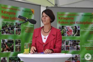 Ursula Philipps vom Stadtbauamt