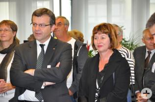 Stadtammann Franco Mazzi und Vize-Stadtammann Brigitte Rüedin