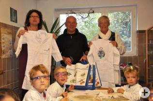 Gabriele Blum, Helmut Bär und Angelika Tresp (rechts)