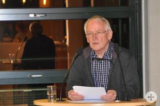 Manfred Gollin, Vorsitzender des DRK-Ortsvereins Rheinfelden