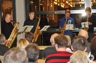 Saxophonorchester der Musikschule Rheinfelden