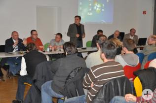 Bürgerversammlung in Warmbach