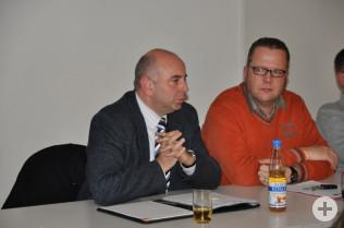 Tobias Obert und Erik Fiss
