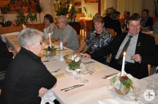 Jahres-Essen mit den Pensionären und Jubilaren