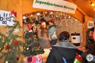 Das JuPa auf dem Rheinfelder Weihnachtsmarkt