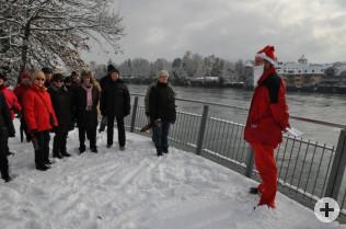 3.000 Schritte mit dem Nikolaus