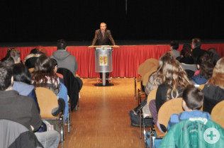 Oberbürgermeister Klaus Eberhardt dankte für die tolle Teilnahme.