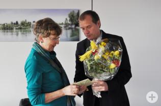 Oberbürgermeister Klaus Eberhardt dankte im Namen der Stadt.