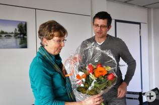 Rüdiger Zorn überbrachte die Glückwünsche des Personalrats.