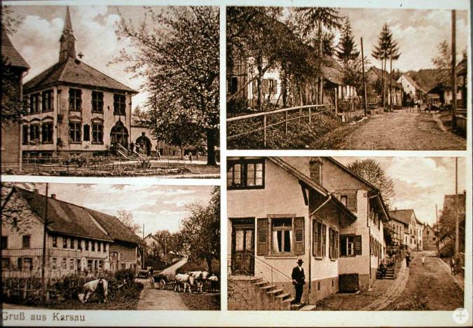 Ansichtskarte von Karsau