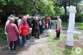 Oberbürgermeister Klaus Eberhardt bedankte sich bei Gertrud Theilsiefje und dem Haus Salmegg Verein.