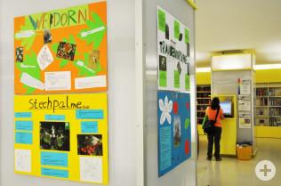 Ausstellung von Schülerarbeiten in der Stadtbibliothek