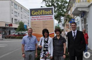 Daniel Kratzer, Annette Reith, Katja Preuss und Elmar Wendland