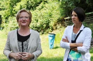 Sabine Hartmann-Müller und Ursula Philipps