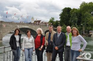 Die Organisatoren des Rhein-Erlebnis-Tag beider Rheinfelden