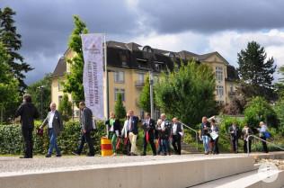Jurybegehung im Stadtpark-Ost Rheinfelden (Aargau)