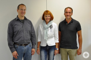Andreas Kramer, Cornelia Rösner und Simon Hohler