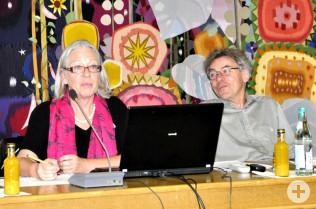 Isolde Britz und Peter Fierz