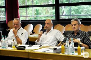 Michael Koch, Stephan Engelsmann und Peter Marti