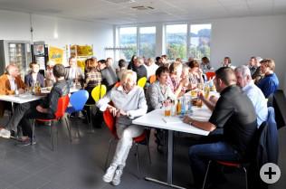 Besuch des Logistik Zentrums Hochrhein