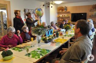 Feier zum 100sten Geburtstag von Martha Grether