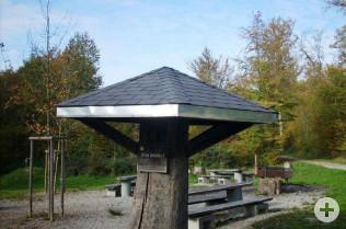 Ein neues Dach für den Lebküchle-Pilz