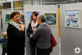 """Vernissage zur Ausstellung """"Künstler in Fécamp"""""""