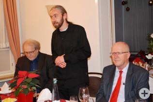 Hans Krusche, Dirk Bergmann und BM Rolf Karrer
