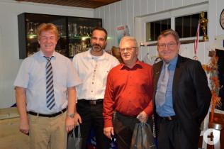 Uwe Tittmann, Stephan Rutner, Uwe Wenk und Jürgen Räuber