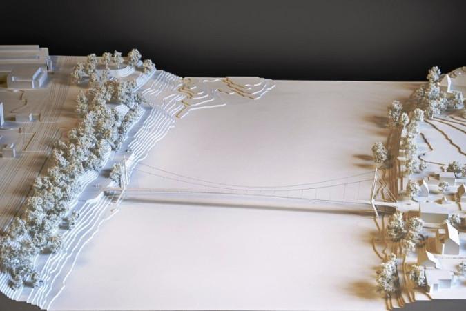 Modell des Projektes 1001 (Foto: Petra Böttcher)