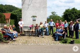 Grüner Einsatz am Frenenbergbrunnen