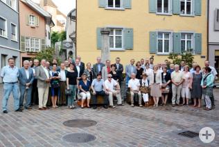 Teilnehmer des Behördentreffens 2015