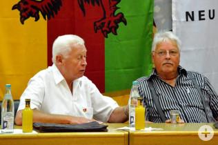 Erich Blatter und Wilfried Markus