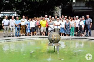 Neumarkter Senioren zu Besuch in Rheinfelden (Baden)